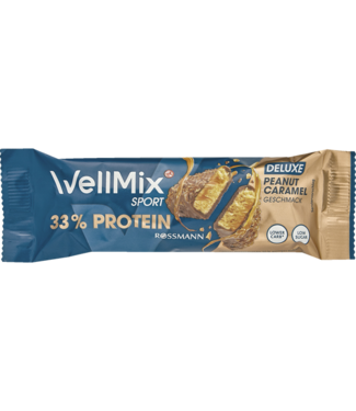 Wellmix Wellmix  Sport Proteïnereep Deluxe Deluxe Peanut