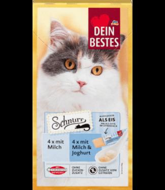 Dein Bestes Dein Bestes Schnurr Kattensnack Melk & Yoghurt