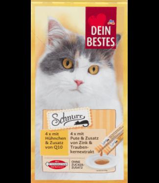 Dein Bestes Dein Bestes Schnurr Kattensnack Kip & Kalkoen