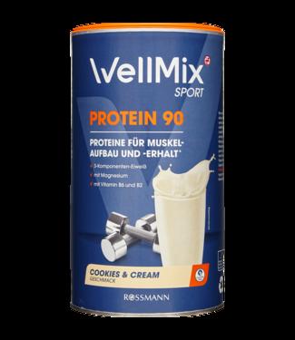 Wellmix Wellmix  Sport Proteïne 90 Poeder Cookies & Cream