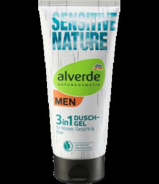 ALVERDE MEN NATURKOSMETIK  Alverde MEN Douchegel 3 in 1 Sensitive