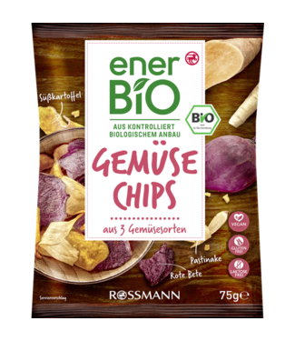 ENERBIO ENERBIO Groente Chips Naturel