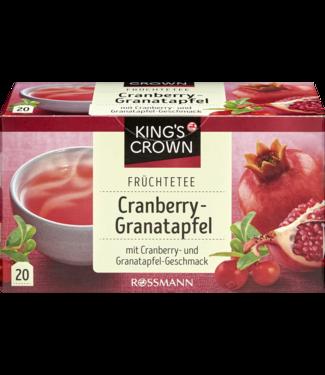 KING'S CROWN KING'S CROWN Fruitthee Cranberry Granaatappel