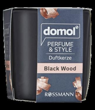 DOMOL DOMOL Geurkaars Black Wood