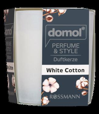 DOMOL DOMOL Geurkaars White Cotton
