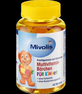 Mivolis Mivolis Kinder Multivitamine Beertjes