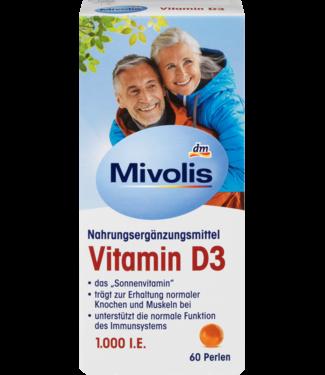 Mivolis Mivolis Vitamine D3 Parels