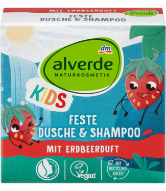 ALVERDE NATURKOSMETIK Alverde Kids Vaste Douche & Shampoo Bar