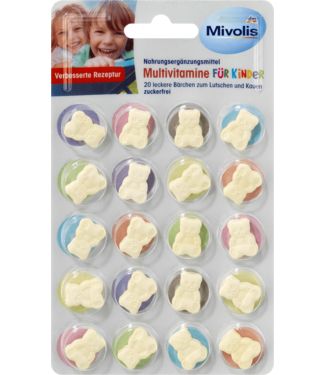Mivolis Mivolis Kinder Multivitamine Zuigtabletten