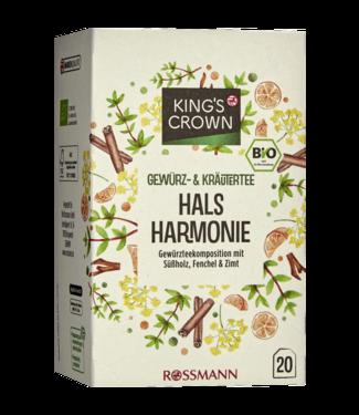 KING'S CROWN KING'S CROWN Bio Kruidenthee Hals Harmonie
