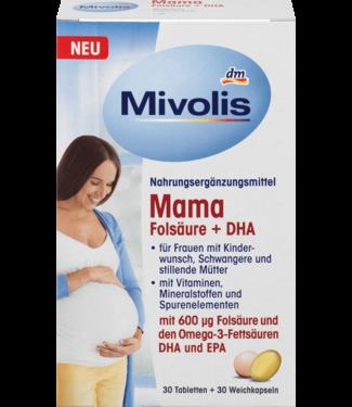 Mivolis Mivolis Mama Foliumzuur + DHA