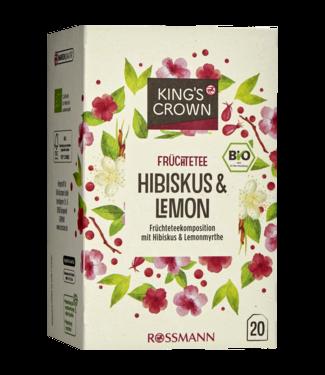 KING'S CROWN KING'S CROWN Bio Fruitthee Hibiscus & Citroen