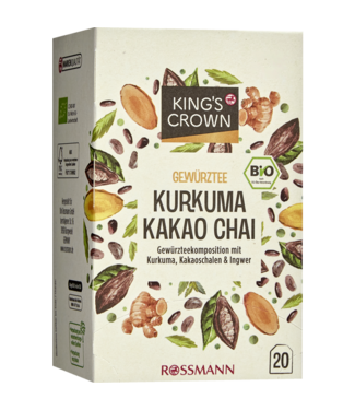 KING'S CROWN KING'S CROWN Bio Kruidenthee Kurkuma Cacao Chai