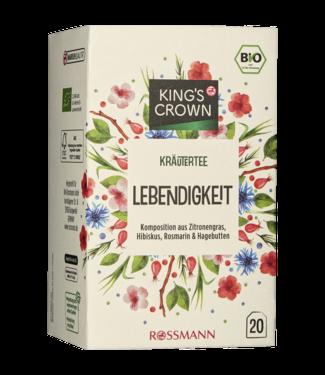 KING'S CROWN KING'S CROWN Bio Kruidenthee Levendigheid