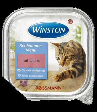 WINSTON WINSTON Kattenvoer Culinair Menu Zalm