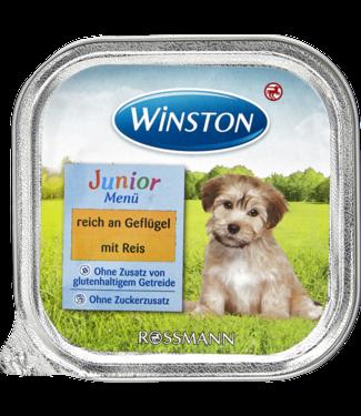 WINSTON WINSTON Hondenvoer Junior Menu Gevogelte & Rijst