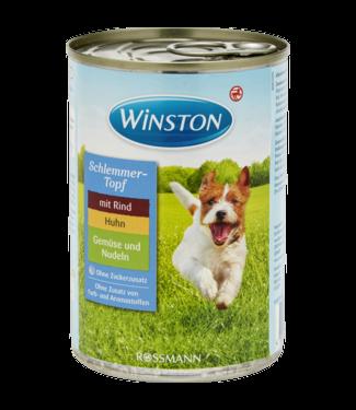 WINSTON WINSTON Hondenvoer Blik Rundvlees Kip Groenten & Noodles