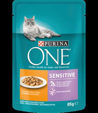 PURINA PURINA One Sensitive Kattenvoer Kip & Wortel