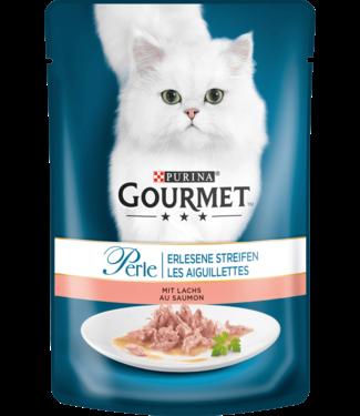 PURINA PURINA Gourmet Kattenvoer Zalmreepjes
