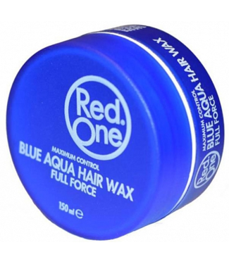 RED ONE RED ONE Aqua Haarwax Blue