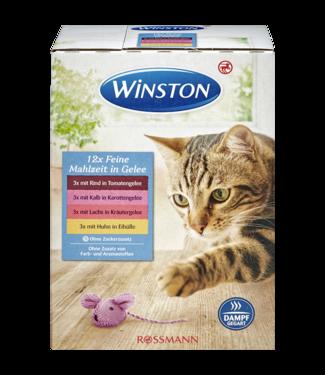 WINSTON WINSTON Multipack Gelei Rund Kalf Zalm Kip