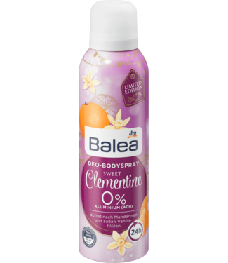 Balea Balea Deodorant Spray Clementine