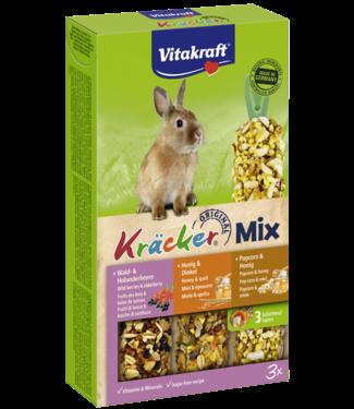 VITAKRAFT VITAKRAFT Dwergkonijn Kräcker Mix Wilde Bessen, Honing & Popcorn