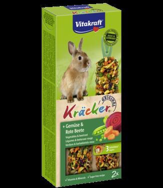 VITAKRAFT VITAKRAFT Dwergkonijn Kräcker Groenten & Rode Biet