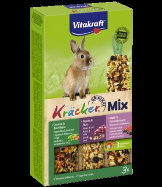 VITAKRAFT VITAKRAFT Dwergkonijn Kräcker Mix Groenten, Noten & Bosbes