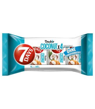 7 DAYS 7 DAYS Croissant Double Coconut & Cacao