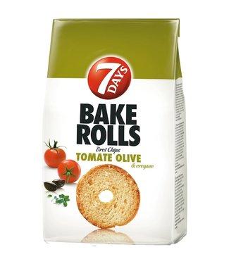 7 DAYS 7 DAYS Bake Rolls Tomate, Olive & Oregano