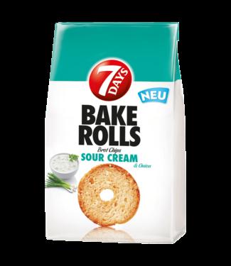 7 DAYS 7 DAYS Bake Rolls Sour Cream