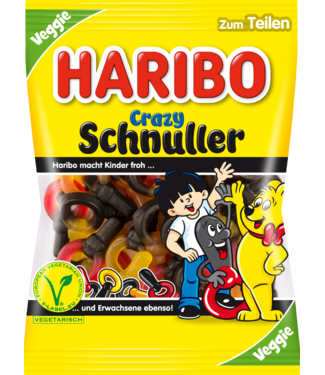 HARIBO HARIBO Crazy Fopspeen Fruitdrop