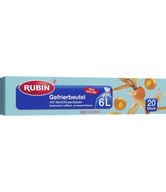 RUBIN RUBIN Diepvrieszakken 6L