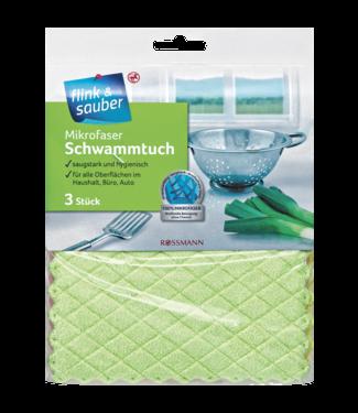 FLINK & SAUBER FLINK & SAUBER Microvezel Sponsdoeken 3st