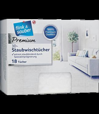 FLINK & SAUBER FLINK & SAUBER Premium 3D Stofdoekjes 18st
