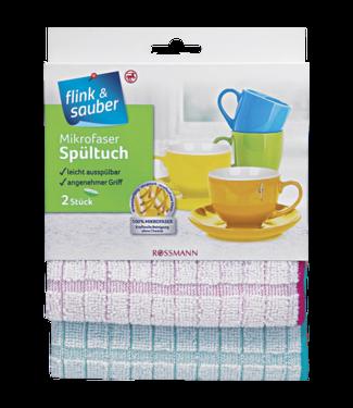 FLINK & SAUBER FLINK & SAUBER Microvezel Vaatdoeken 2st