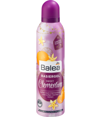 Balea Balea Scheergel Sweet Clementine