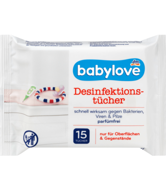 Babylove Babylove Desinfectiedoekjes 15st