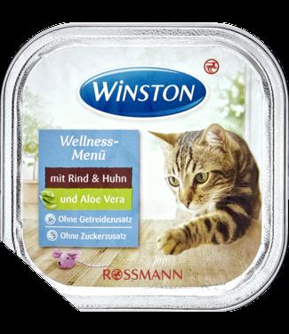 WINSTON WINSTON Kattenvoer Wellness Menu Rund & Kip + Aloe Vera