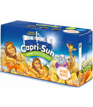 CAPRI-SUN CAPRI-SUN Safari Fruits 10st