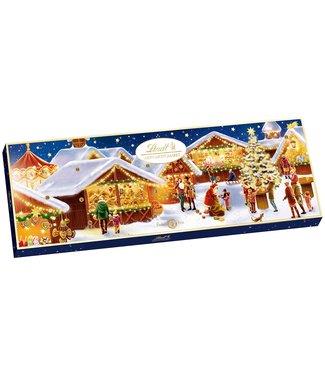 LINDT LINDT Kerstmarkt Adventskalender 2021 250g