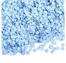 100 gram confetti baby blauw