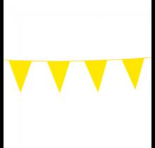 10 meter gele vlaggenlijn