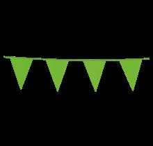10 meter groene vlaggenlijn