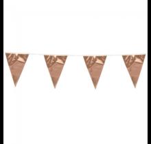 10 meter metallic rosé gouden vlaggenlijn