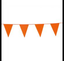 10 meter oranje vlaggenlijn