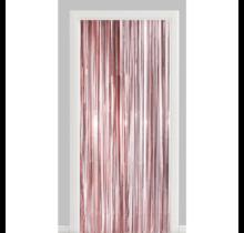 Deurgordijn rosé goud (brandvertragend)