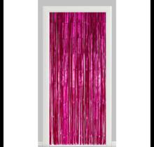 Deurgordijn roze (brandvertragend)