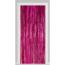 Feest-vieren Deurgordijn roze (brandvertragend)